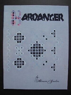 HARDANGER by MARION SCOULAR - Embroidery Pattern book