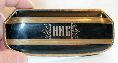 Art Deco Spectacles Case C1930 , Made U.s., Page 60 In My Book