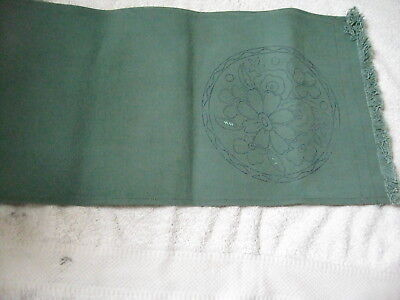 Vintage Runner To Embroider With 36 Anchor Embroidery Skeins Assorted Colours