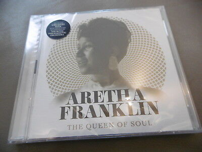 *New* Aretha Franlklin The Queen Of Soul 2 Cd Respect Say Little Prayer Think
