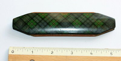 Excellent Cond.  Tartan Ware Spectacles Case Etui C  1810, P. 58 In My Book