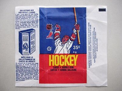 1986/87 O-Pee-Chee Hockey Card Wax Pack Wrapper Patrick Roy Rookie Cl Sharp Opc