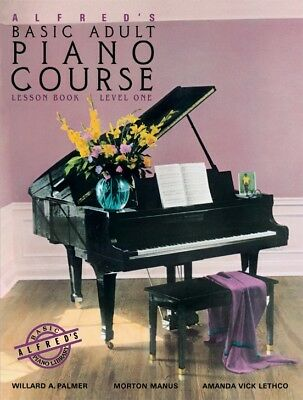 Alfred's Basic Adult Piano Course Lesson level 1,2,3 (All in one) (PDF/Epub)