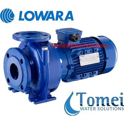 Close-coupled End Suction Centrifugal Pump with Flanges NSCE40-125/15 2Hp Lowara