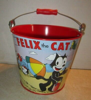 Felix The Cat Schylling Tin Sand Pail F883