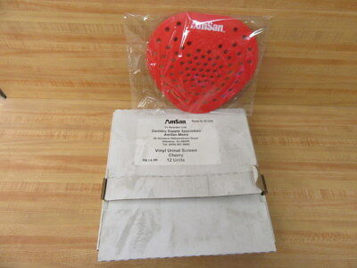 AmSan 053-10440 Cherry Urinal Screen Deodorizer Cleaner (Pack of 216)