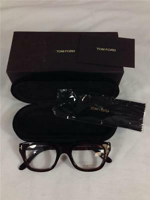 d75a40e37328a NEW! TOM FORD TF5178 Men s Dark Brown Havana Eyeglasses Frames 50-21 ...