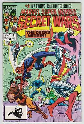 L8537: Marvel Super Heroes Secret Wars #3, Vol 1, NM/M Condition