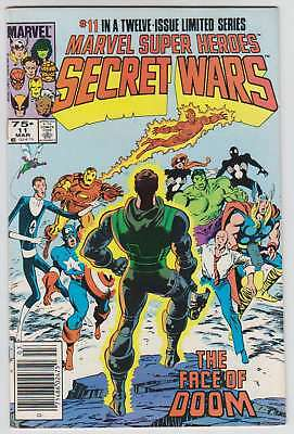 L8544: Marvel Super Heroes Secret Wars #11, Vol 1, NM/M Condition