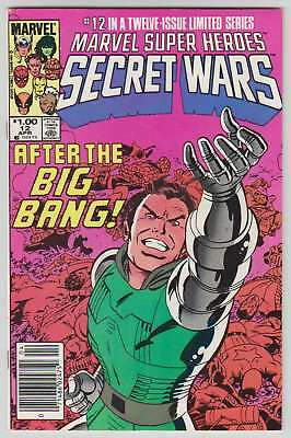 L8545: Marvel Super Heroes Secret Wars #12, Vol 1, NM Condition