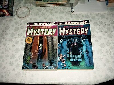 DC Showcase presents The House of mystery volumes 1 & 2  comic books 500+pages