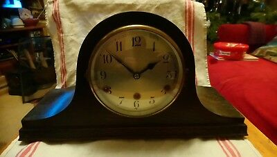 Antique Wuttemberg Clock With Chimes for spares or repairs