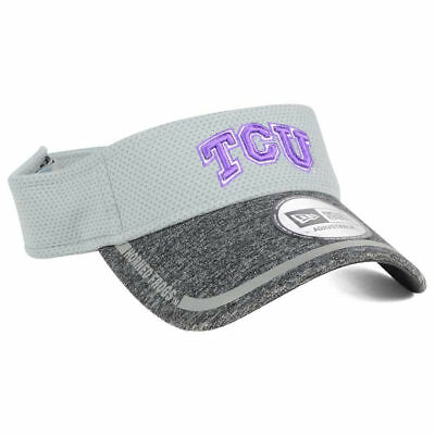 TCU Horned Frogs New Era NCAA Training Camp Official Visor Adjustable Hat  Cap TX c85a982a92a