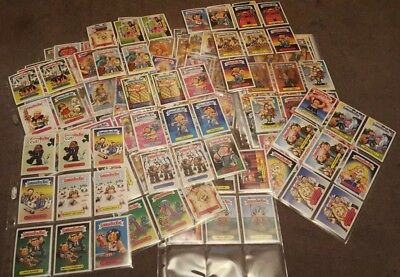 230 Garbage Pail Kids Sticker Cards  Prime Slime Trashy TV series mint condition