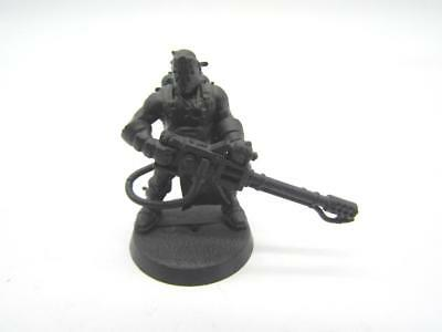 Warhammer 40k Chaos Space Marines Cultist With Heavy Flamer (w10)