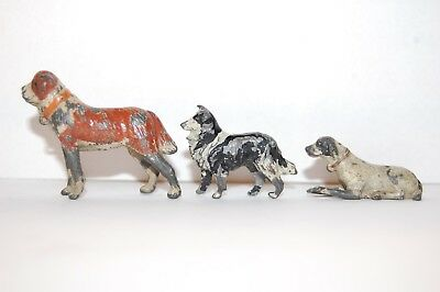 Pre War Britains Lead Farm Dogs