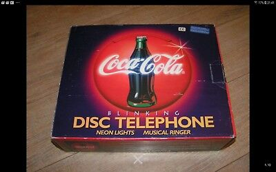 Disco-Telefono Coca-Cola Made In Usa 1996 Longwood Industries