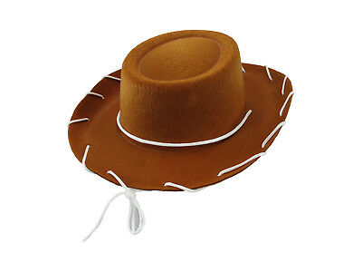 Child Cowboy Cowgirl Hat Jessie Woody Western Costume Accessory Vintage 1950'S