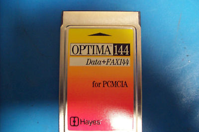 Hayes 535Pam Optima 144 Data+Fax144 For Pcmcia