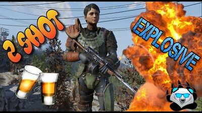 Fallout 76 Two-Shot Explosive Bundle (PC) (PICK 3 WEAPONS OF YOUR CHOICE)