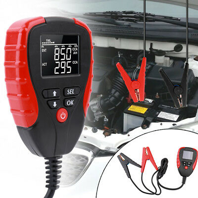 LCD Digital Car Battery Analyzers Auto System Tester Diagnostic Tool 12V X7Z4