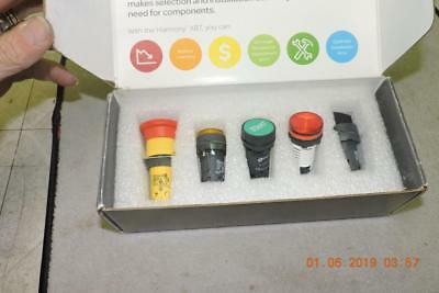 schneider XB7 Start Emergency Stop Push Button Harmony XB7 Monolithic Pilot Set