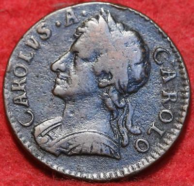 1675 Great Britain 1 Farthing Foreign Coin