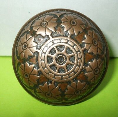 Antique Vintage Eastlake Victorian Brass Door Knob Lot A