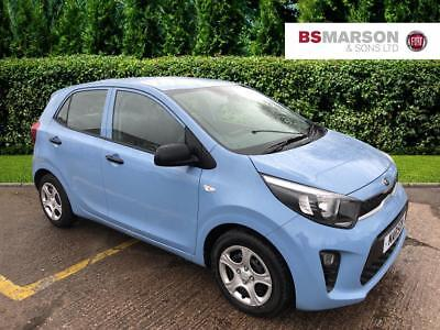 2017 Kia Picanto 1 Petrol blue Manual