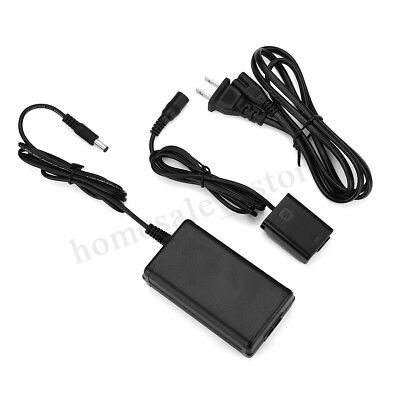 AC Adapter Power AC-PW20 for Sony NEX-3 A55 A7 A7R A7S SLT-A33 RX10 with Cable