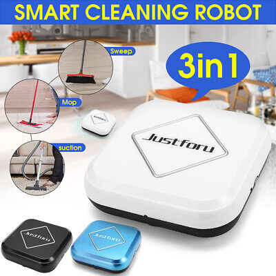 3 in 1 Automatic Household Vacuum Cleaner Smart Floor Mopping Sweeping Robot