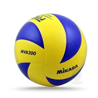 Genuine Mikasa MVA200 Indoor Olympic Volleyball - FIVB Approved