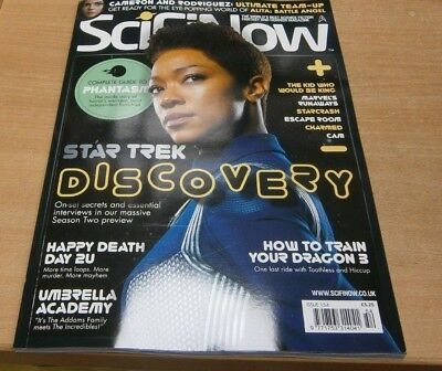 SciFi Now magazine Issue #154 2019 Star Trek Discovery Happy Death Day 2U & more