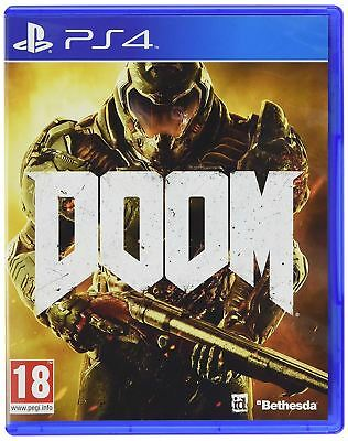 Sony PlayStation 4 Doom PS4 Brand New Sealed Official