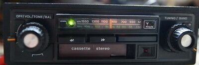 Philips Stereo Cass. Oldtimer / Youngtimer Autoradio - Funktion OK !