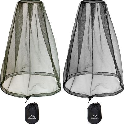 Insect Mosquito Midge Head Net Wasp Bug Headnet Face Protection Travel Camping