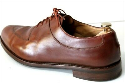 a515643ce4c PARABOOT Derby Homme Cuir Marron Noisette Cousu Good Year T 12 UK   47 FR BE