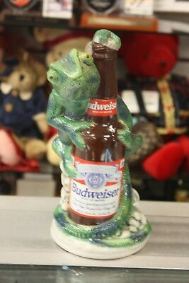 Vintage Anheuser Busch Budweiser Louie the Lizard Beer Stein w/ Original Box