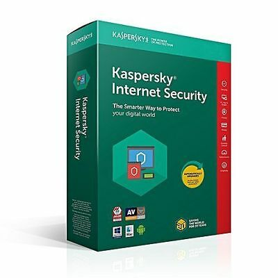 Kaspersky Internet Security 2018 1Pc 2 Year Download Windows Mac Android