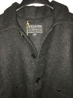 New Filson Made In Usa Double Mackinaw Cruiser 50 $495 Alaska Fit 1St Quality