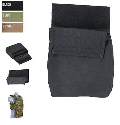 Roll-Up Dump Pouch f Plate Carrier empty Mag Tasche Airsoft Outdoor Army Hunter