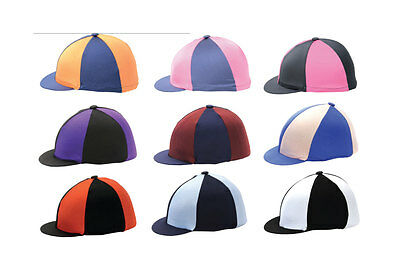 Lycra Stretch Skull Riding Hat Cap Cover / Hat Silk / Riding Hat Cover