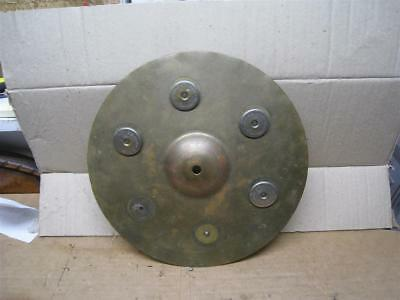 """Vintage 1920's - 40's Ludwig & Ludwig Co. 12"""" Dia.  """"Sizzle"""" Cymbal - As-Is"""