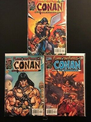 Conan the Barbarian Flame & The Fiend 2000 Marvel
