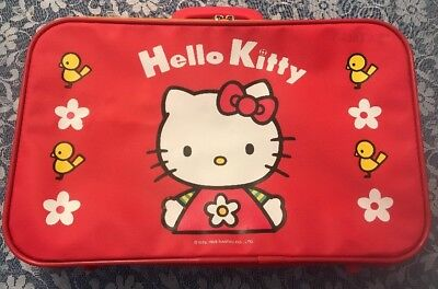 VINTAGE COLLECTORS SANRIO BAG Suitcase Hello Kitty 1999 Red -  17.00 ... 12c87e7b65ab6