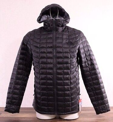 NWT The North Face Men's LARGE Thermoball Full Zip Jacket Puffer Grey Hoodie NEW