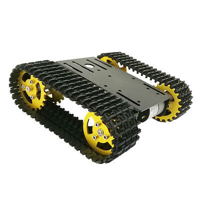 RASPBERRY PI ROBOT Car Tank Chassis Kit w/ HD Camera Android APP