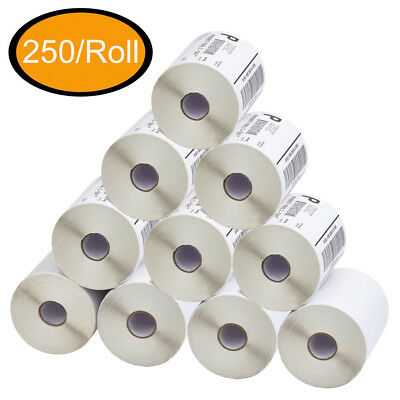4x6 Direct Thermal Shipping Labels Zebra Eltron 2844 ZP450 Compatible - 250/Roll