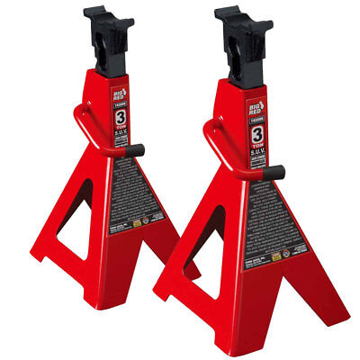Torin Big Red 3-Ton Capacity Extra Tall SUV Jack Stands (Pair)
