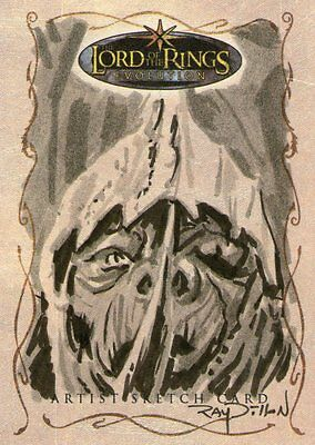 Lord of the Rings Evolution: Sketch Card by Ray Dillon